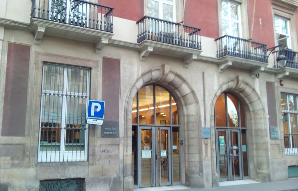 registro civil Barcelona