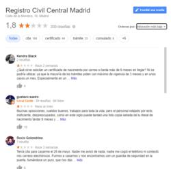 Opiniones Registros Civiles