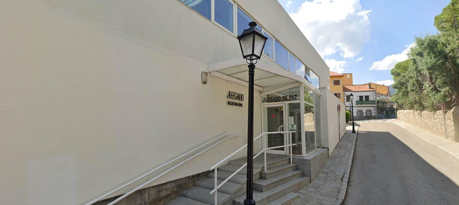 Registro civil - Juzgado de Paz El Escorial
